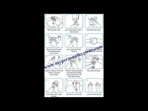 Hand Washing Worksheets Collection