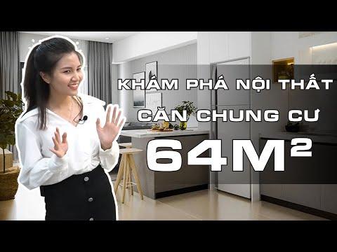 """Khám phá Nội Thất """"CĂN CHUNG CƯ 60M2"""" - TÁO ĐỎ TV!"""