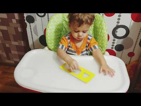 Детский канал игры геометрические фигуры для детей 1  2 года Учим цвета развивашки