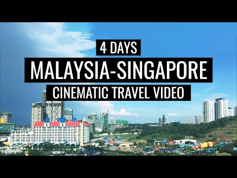 Malaysia and Singapore in 4 days! (2017 Cinematic Travel Video)