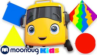 Buster Teaches Shapes | Learn at Home | Go Buster! |  Full Magic Stories and Fairy Tales for Kids