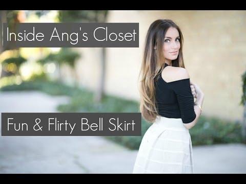 Lookbook // Fun & Flirty Bell Skirt   MUSIC VIDEO!