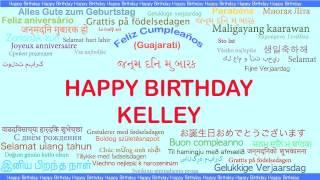 Kelley   Languages Idiomas - Happy Birthday