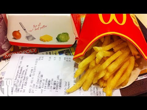HERE'S WHY YOU SHOULD ALWAYS ASK FOR A RECEIPT AT MCDONALD'S