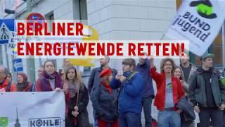 """""""Rote Linie für Kohle, Erdgas und Müll"""" - Kohleausstieg Berlin"""