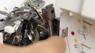 Singer Overlock S14-78 Threading Guide: 4 Thread Overlock