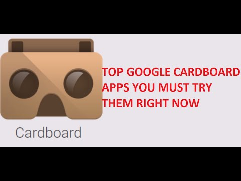 Top 13 free cardboard apps you must try right now youtube