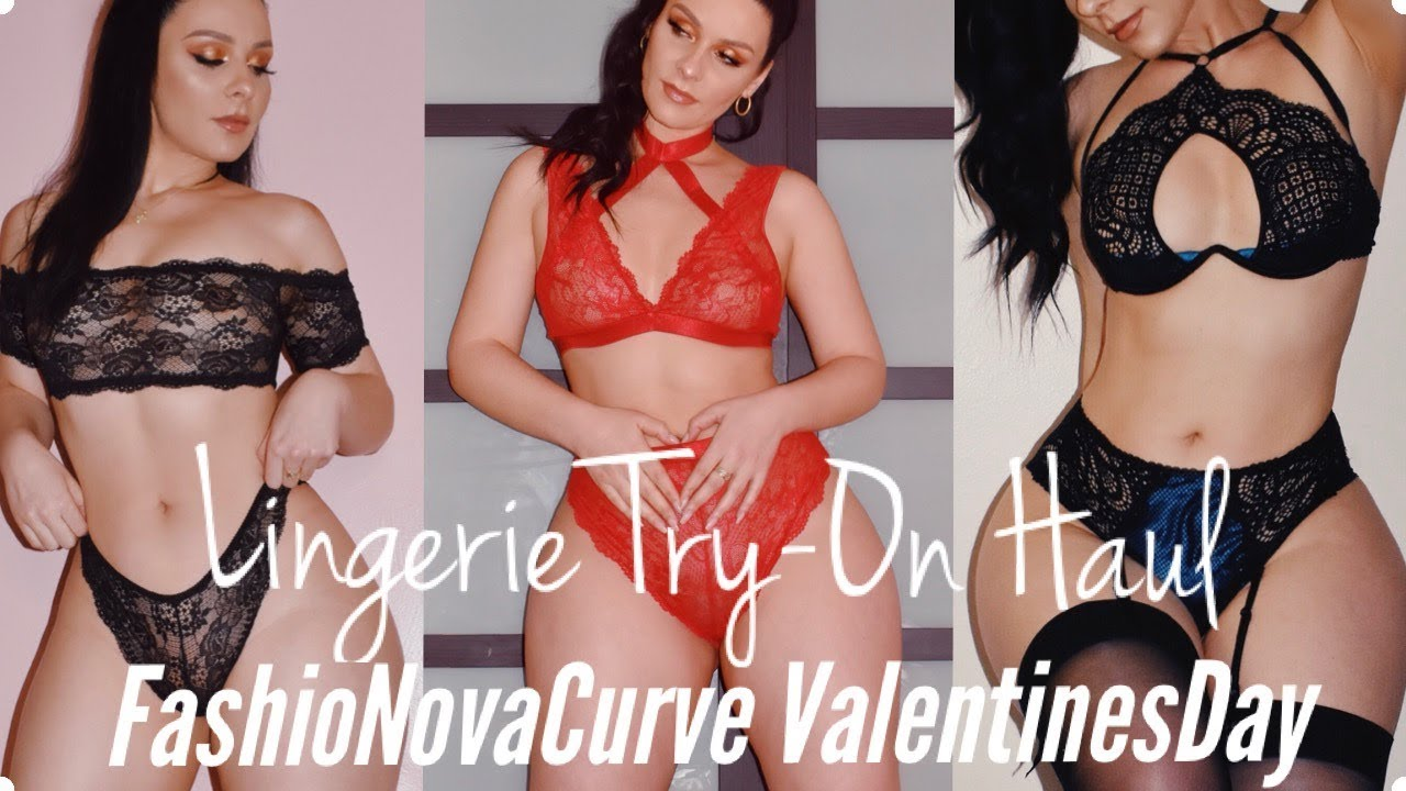 Valentine s Day SPECIAL Lingerie Try-On Haul  d35419199