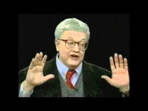 Roger Ebert on Charlie Rose, November 1996 pt2