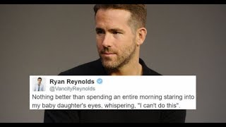 30 Pictures To Prove Ryan Reynolds is A King of Tweets
