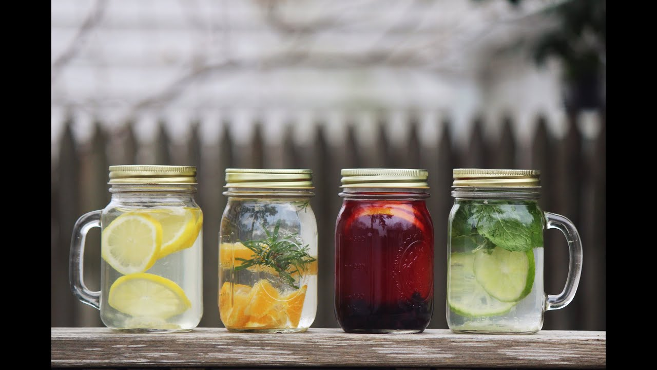Create your own HEALING essence waters! ( DETOX DRINK ) - YouTube