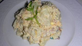 Creamy Potato Salad Recipe With Bacon