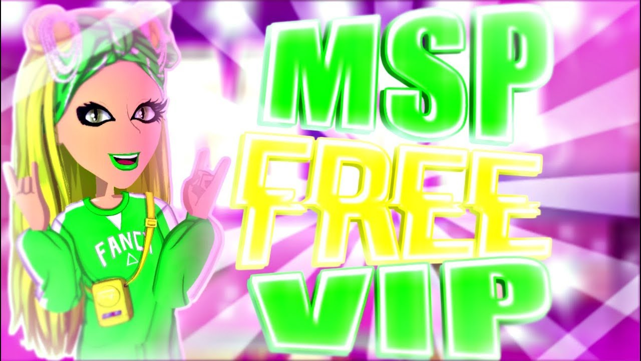 FREE YEAR VIP ON MSP?!? Moviestarplanet