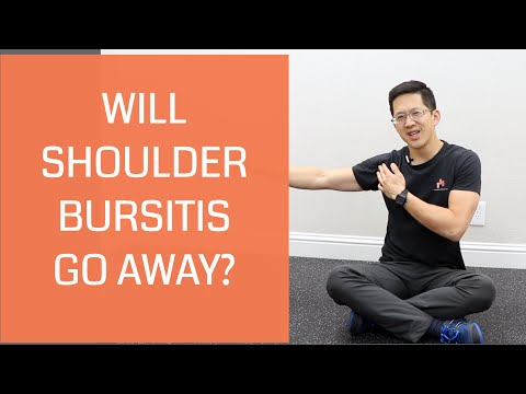 Can shoulder bursitis heal and go away? A personal history of pain + exercises to help