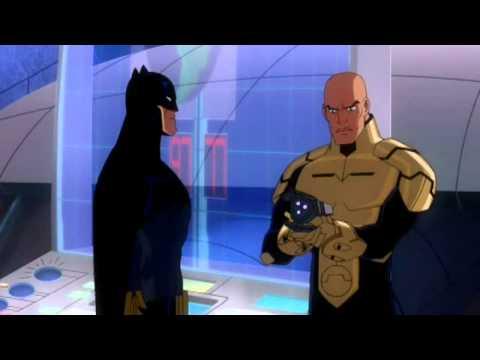 Batman tells The Flash he is too slow [HD]