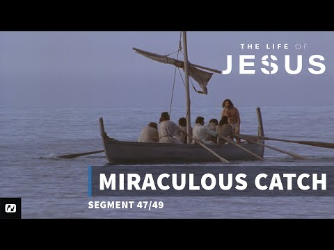 Miraculous Catch | English | The Life Of Jesus | 47 Of 49