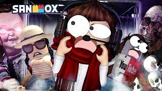 전기톱 살인마, 처키, 슬랜더맨... 도잠쵸 호러 엘리베이터를 타다!! [로블록스: 호러 엘리베이터] Roblox - The Horor Elevator - [도티]