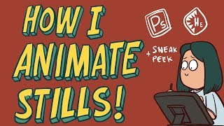 HOW I ANIMATE STÏLLS : The Best way to Animate Boring SCENES (TIMELAPSE)