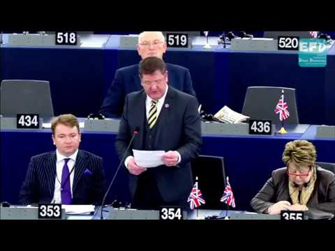 Migrants not under threat from conflict should be declared economic migrants - Mike Hookem