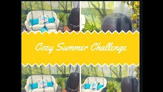 Cozy Summer Challenge outdoor decor