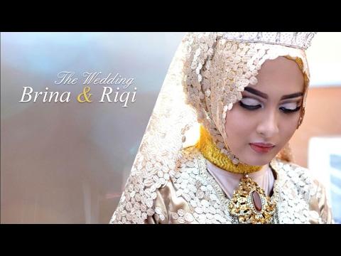 Janji Suci Brina & Riqi - Wedding Clip