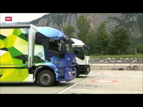 Electric Truck EFORCE ONE - using components of BRUSA Elektronik AG