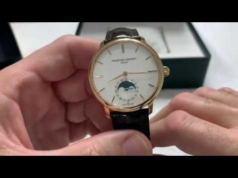Review Of A Frederique Constant Moon Phase Dress Watch