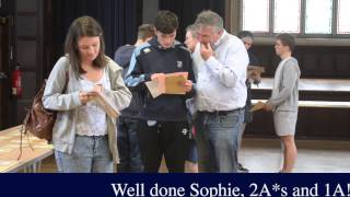 HSL A level results day 2015