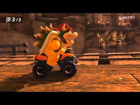 Wii U - Mario Kart 8 - (Wii) Wario's Gold Mine