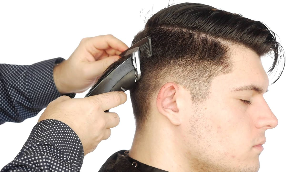 How to Fade an Undercut Step by Step , TheSalonGuy