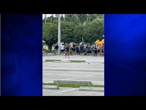 Driver crashes into Florida Pride parade mayor says 1 dead