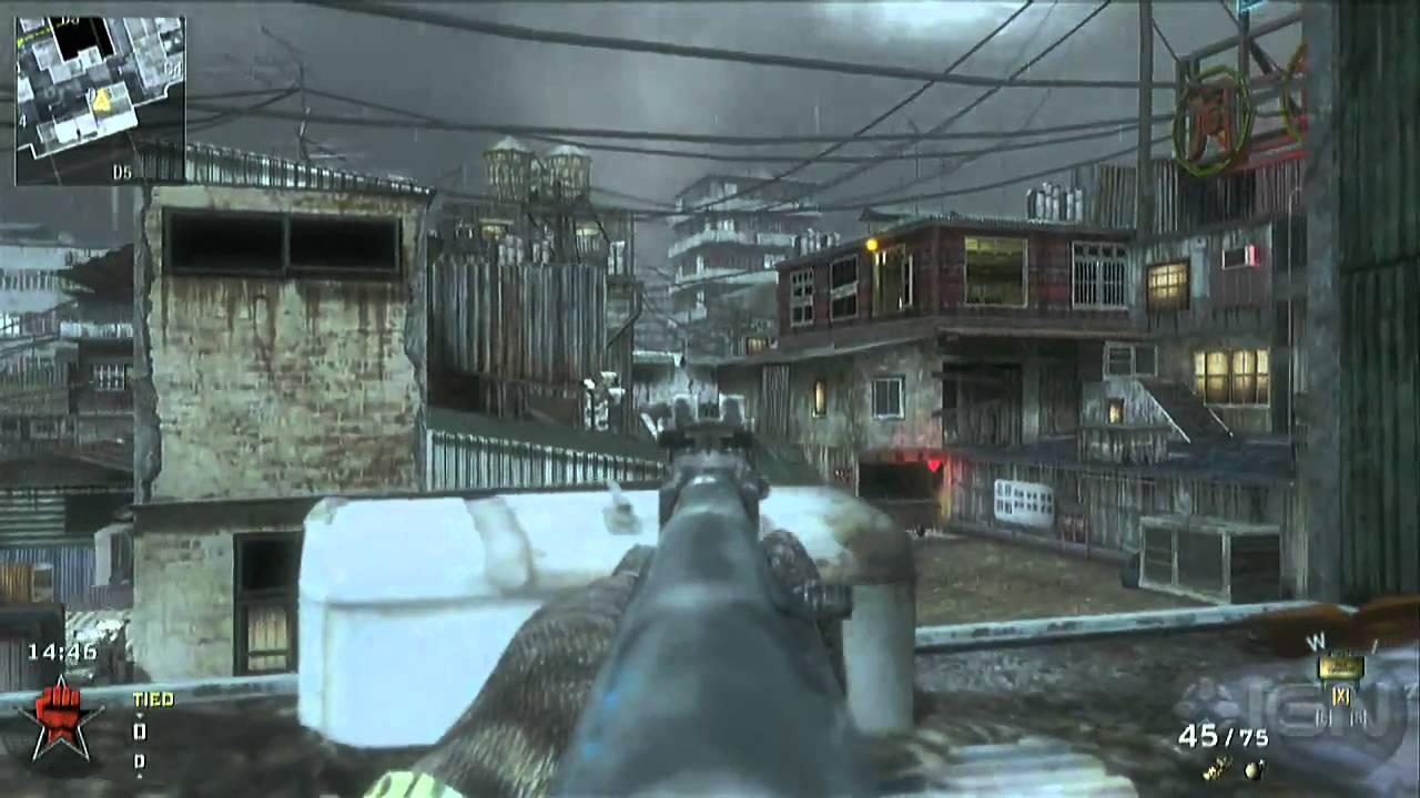 Call of Duty Black Ops Map Walkthrough