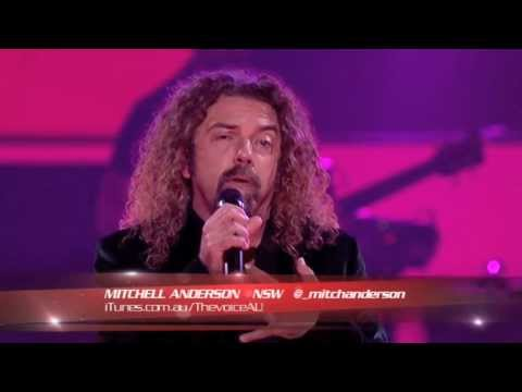 Mitchell Anderson Sings What Becomes Of The Broken Hearted: The Voice Australia Season 2