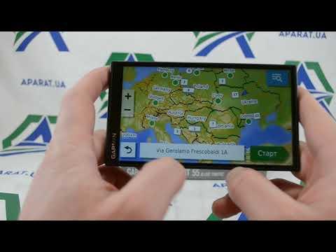 GPS навигатора Garmin DriveSmart 55 LMT Полные характеристики