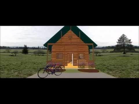 conestoga-log-cabin-kit-tour---36'x20'-mountain-king-model-with-2br-|-1ba-|-1,080-sqf
