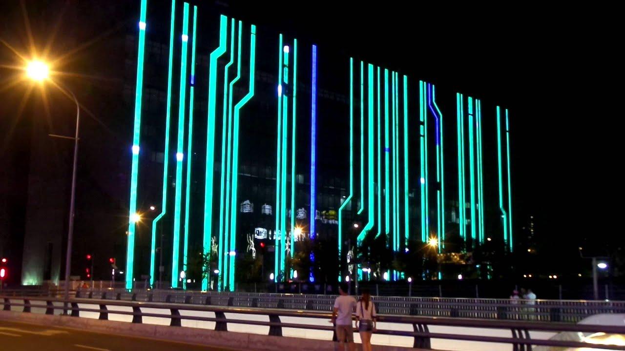 Led Light Building
