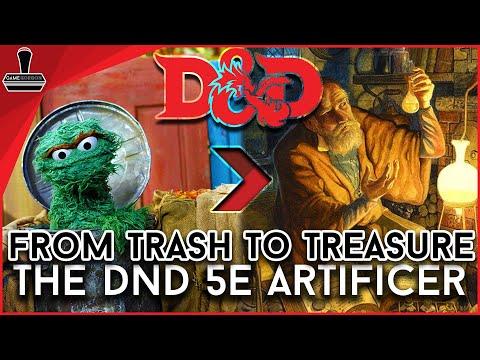 DND 5E Artificer 2019: From Trash to Treasure | GameGorgon