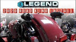 131 Road King Build (Part 2)   Legend Suspension Install