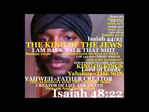 The Return of The King of The JEWS I AM The Messiah Fake Jews Are in ISRAEL