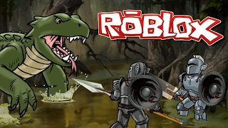 Roblox   TITAN BOSS BATTLES - Land of Titans! (Roblox RPG Game)