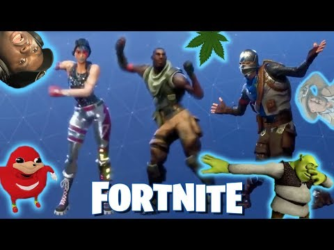 how to floss dance in fortnite