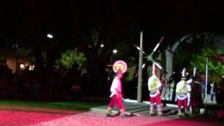 Dance of the GuaGuas @ New Mexico State Fair 2016 Clip 1
