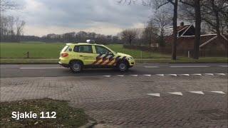 A1 Ambulance rijopleiding met spoed door Tilligte