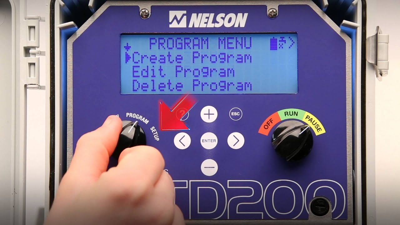 nelson irrigation controller 8425 manual