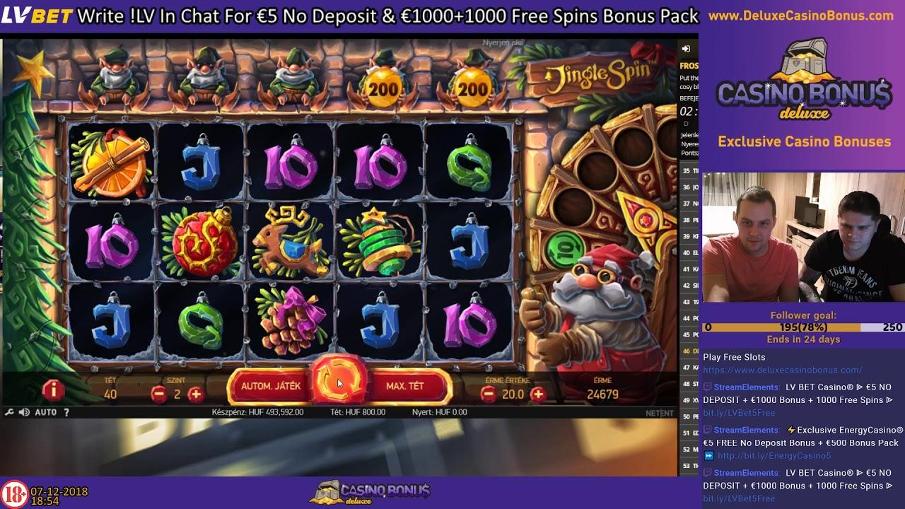 Casino netent free spins