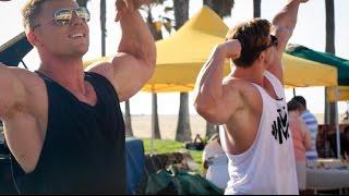 Steve Cook & Calum von Moger Troll Venice Beach