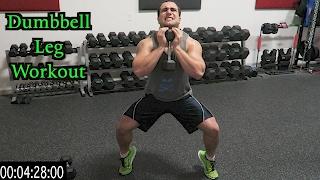 Intense 5 Minute Dumbbell Leg Workout