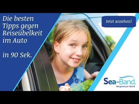 Sea Band - Die Besten Tipps Gegen Reiseübelkeit Im Auto