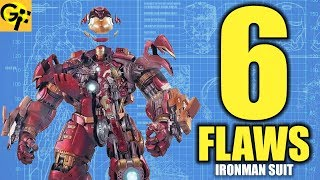 6 Flaws With Iron Man's Armor