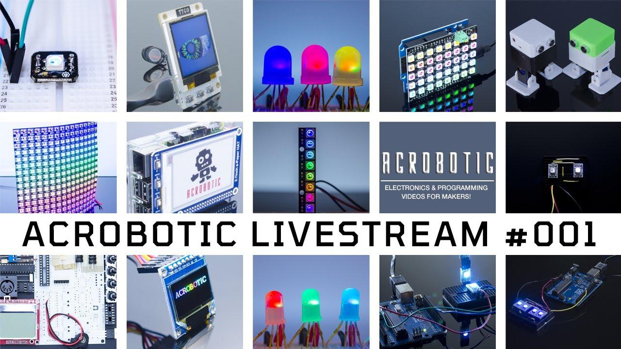 [LiveStream #1] Raspberry Pi + LIDAR